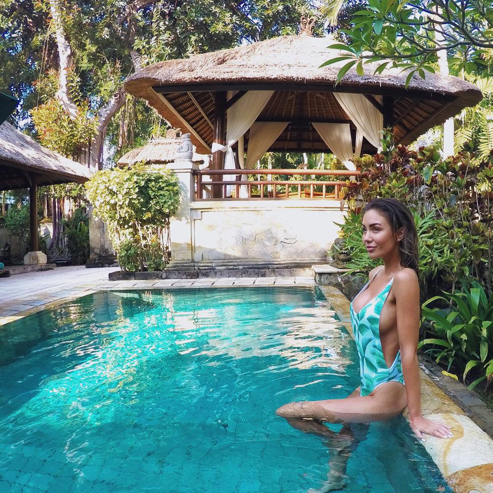Private pools in villa