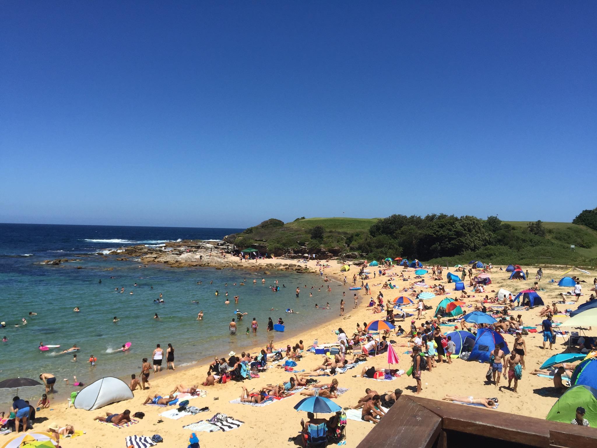 Little Bay Beach in Sydney